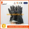 Перчатки черного тумака индустрии длиннего резиновый (DHL502)