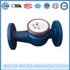 Mètre d'eau mécanique de bride de plus grand diamètre Dn40mm