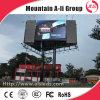 Exhibición de LED publicitaria a todo color al aire libre de la calidad P10 /pH10 de Hight