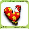 Recuerdo promocional del gallo del imán del refrigerador del PVC de los regalos del diseño libre de Customlized (RC-R19)