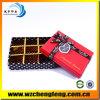 Validar el rectángulo de empaquetado del caramelo rojo de la boda de papel de la orden de encargo