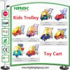 Bebê Kids Children Shopping Trolley com Toy Car