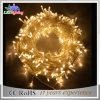 Luz da corda do diodo emissor de luz do fio de cobre M5 do Natal da decoração do feriado & do casamento