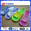 滑り止めPVCプラスチック女性のスリッパの人の靴(TNK20308)