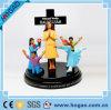 樹脂PraiseおよびWorship Figurine Statue