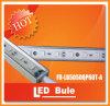 Maak 1m 14.4W SMD5050 Aluminum Huisvesting LED Rigd Strip RGB waterdicht