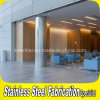 Structural Pillar를 위한 Decortaive Stainless Steel Column Cladding