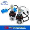 40W 4500lm 6000k 9004/9007こんにちは/フォグランプ、自動ヘッドライトのためのLo車LEDのヘッドライト
