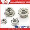 Noix de bride d'hexagone de l'acier inoxydable DIN9621