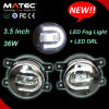 3.5inch indicatore luminoso di nebbia potente eccellente dell'automobile H11 LED con DRL