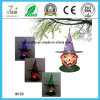 Horror Pumpkin Metal Garden Decoration com luz solar