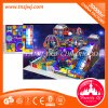 Space Ship Children Naughty Castle Equipment Indoor Playground para Mall