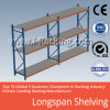 Estante largo resistente del metal del palmo para el almacenaje industrial del almacén