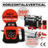 Ligne en travers Self-Leveling niveau rotatoire rouge automatique de laser