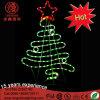 Свет мотива рождественской елки звезды верхней части СИД 2D декоративный для Ce RoHS украшения случая праздника