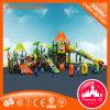 Campo de jogos ao ar livre do plástico das crianças do projeto novo