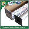 Papel de aluminio del hogar con el cortador en rectángulo acanalado