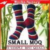 Trifft Fabrik-Großhandelsmann-Bambuskleid 2017 Mittler-Kalb Mann-Bambus-Socken hart