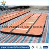 Neuer Entwurfs-aufblasbare orange Luft-Spur für Verkauf