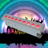 iluminação do DJ da decoração do banquete de casamento da arruela da parede da bateria 9X15W