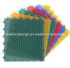 Suelo plástico del campo de tenis sintetizado modular aprobado del dispositivo de seguridad del Ce