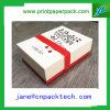 Rectángulo de papel de empaquetado de la cartulina del OEM de libro del regalo rígido del rectángulo