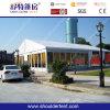 Grande barraca do casamento do partido com forro da decoração e cortina (SDC2062)