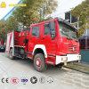 De Vrachtwagen van de Brandbestrijding van Sinotruk 4X2 20t