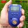 O grande LCD mostra o detetor de gás de HD900 4in1