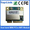 Top-7612e 802.11AC Dual mini Pcie WiFi módulo da faixa 867Mbps para a caixa sadia de alta fidelidade