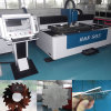 máquina de estaca do laser da fibra do metal de folha do CNC 500W que processa a maquinaria