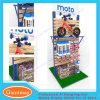 Il doppio parteggia scaffalatura del banco di mostra della bicicletta del MDF Slatwall di commercio all'ingrosso