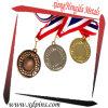 De reproducción personalizada barata Race Sport medalla metal