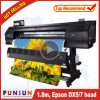 A melhor impressora ao ar livre do grande formato de Funsunjet Fs-1802g 1.8m/6FT do preço com dois Dx5 dirige 1440dpi para a impressão da etiqueta do vinil