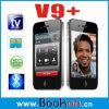 Quad el teléfono dual dual del recurso seguro TV 4G de la venda SIM (V9+)