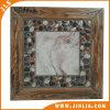 Carrelages en céramique rustiques de modèle en bois en pierre antidérapage de matériau de construction