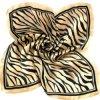 De gedrukte Sjaal van de Zijde (DS20100123)