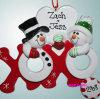 Het Polyresin Aangepaste Ornament van Kerstmis