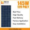 energia solare del poli modulo solare del comitato solare di 145W 12V