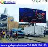 P6 camion locativo mobile esterno LED che fa pubblicità al segno