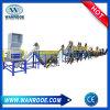 기계 애완 동물 세척 선을 재생하는 3000kg/H 고용량 플라스틱 낭비 병 조각