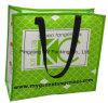 Saco de compra da laminação da forma, saco tecido PP do armazenamento