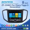 Radio de la navegación de la tarjeta de la rociada del coche de Zestech para la generación de Chery Tiggo 5