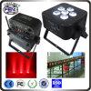 China Stage Factory Chriatmas Light Wireless DMX PAR Light 6PCS RGBWA UVLED PAR Light PAR Light LED LED Op batterijen PAR Can Light Stage PAR LED