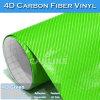 La mejor venta de coches película del vinilo 4D de fibra de carbono del material PVC
