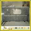 Préfabriquer la partie supérieure du comptoir blanche de granit de brume