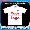 Honorapparel authentische Sublimation-Polyester-Rugby-Polo-Hemden