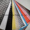 Cuir synthétique de PVC pour le sofa de meubles