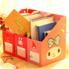 Decorative A4 Size Paper File Holder Storage Box