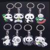 Chaîne principale de nouveaux d'arrivée de souvenir pandas faits sur commande en métal